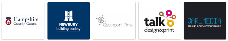 Hampshire County Council, Newbury Building Society, Southpoint Films, Talk Design and Print, Jar Media