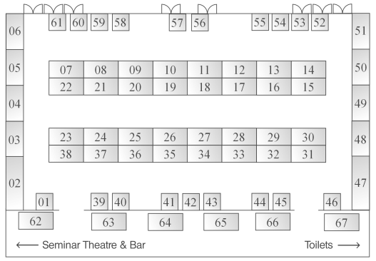 Hampshire Business Expo 2012 Venue Floorplan
