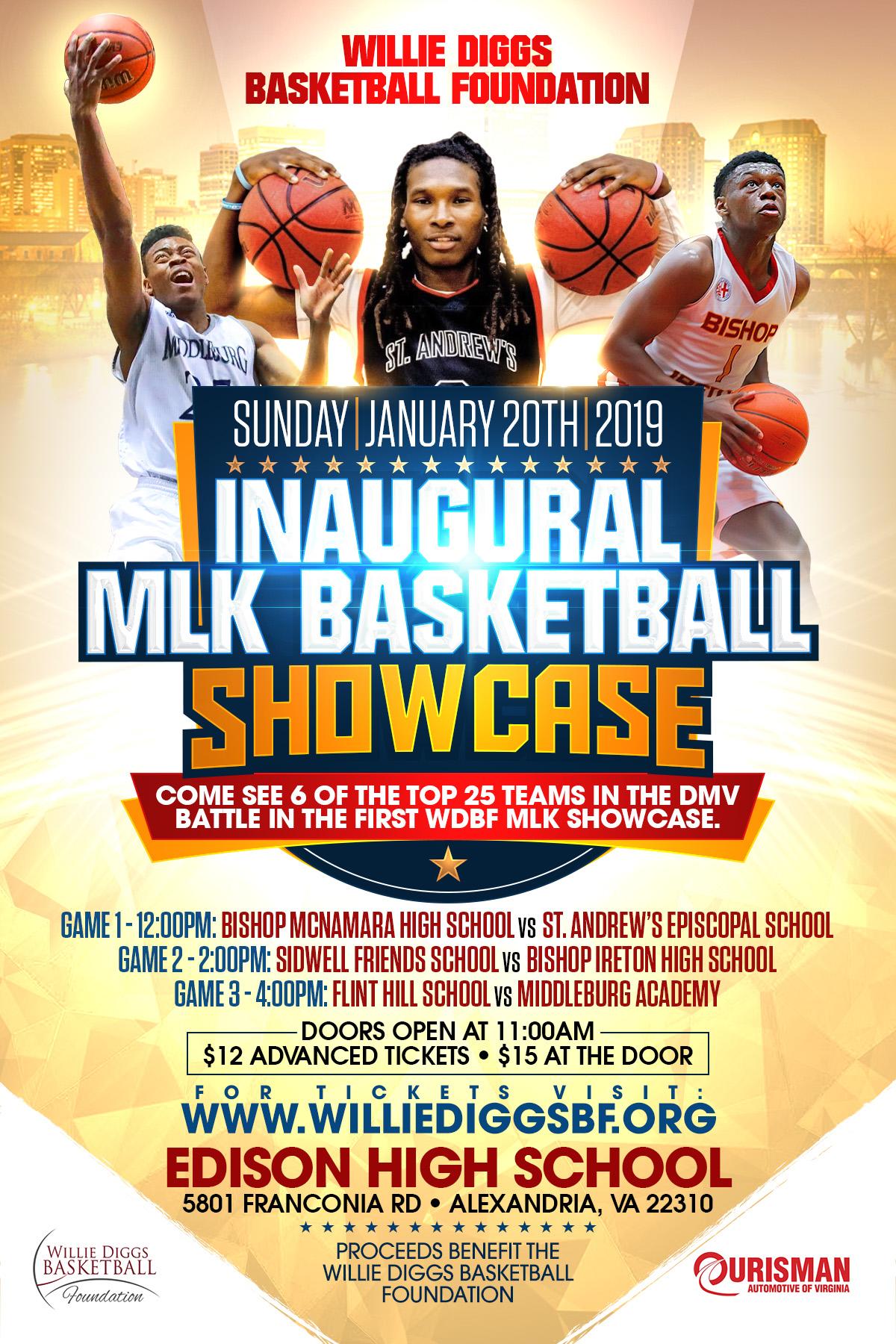 WDBF Inaugural MLK Basketball Showcase