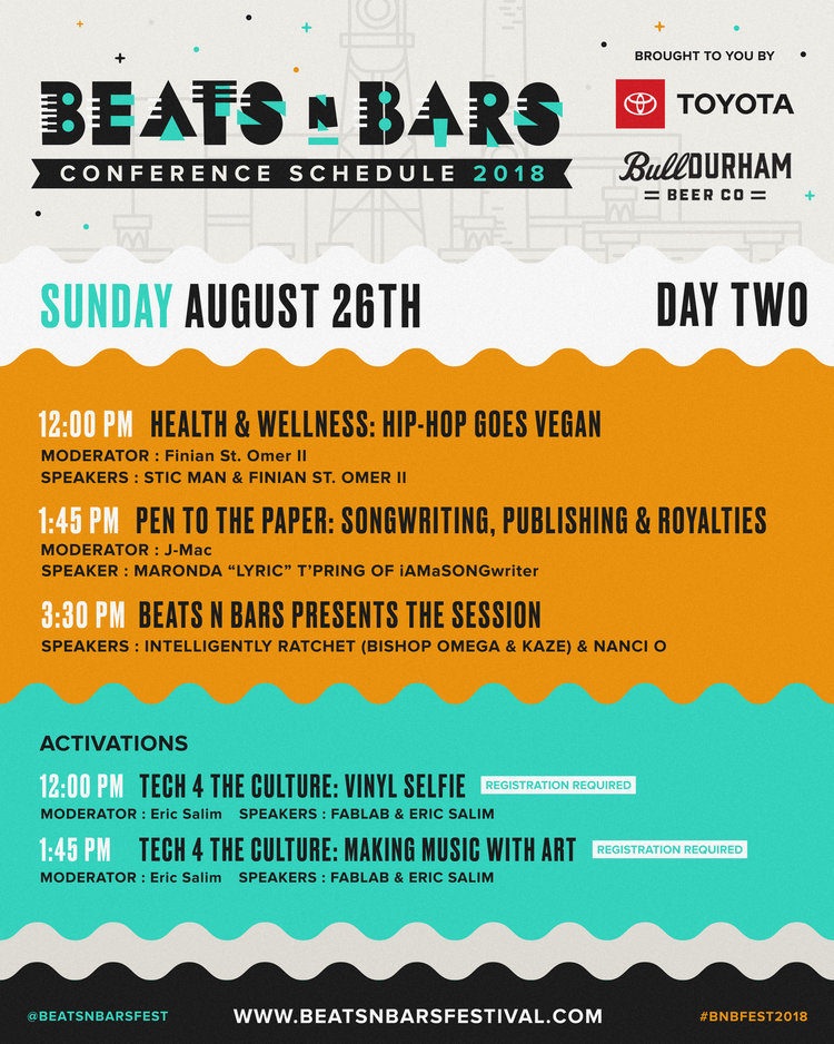 Beats n Bars Festival 2018 Conference Day Two
