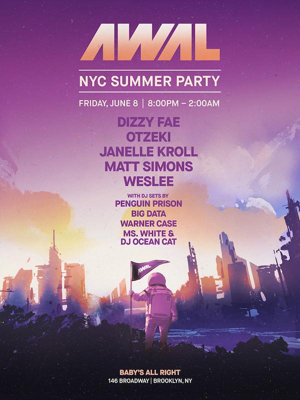 AWAL NYC Summer Party