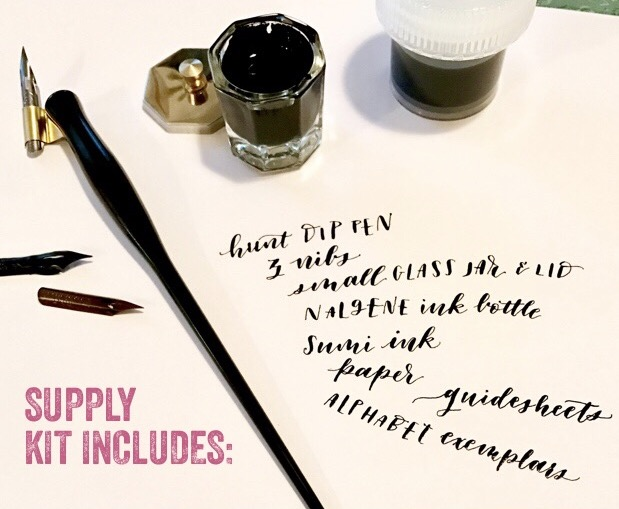 Introduction To Modern Calligraphy Tickets Sat Jul 22