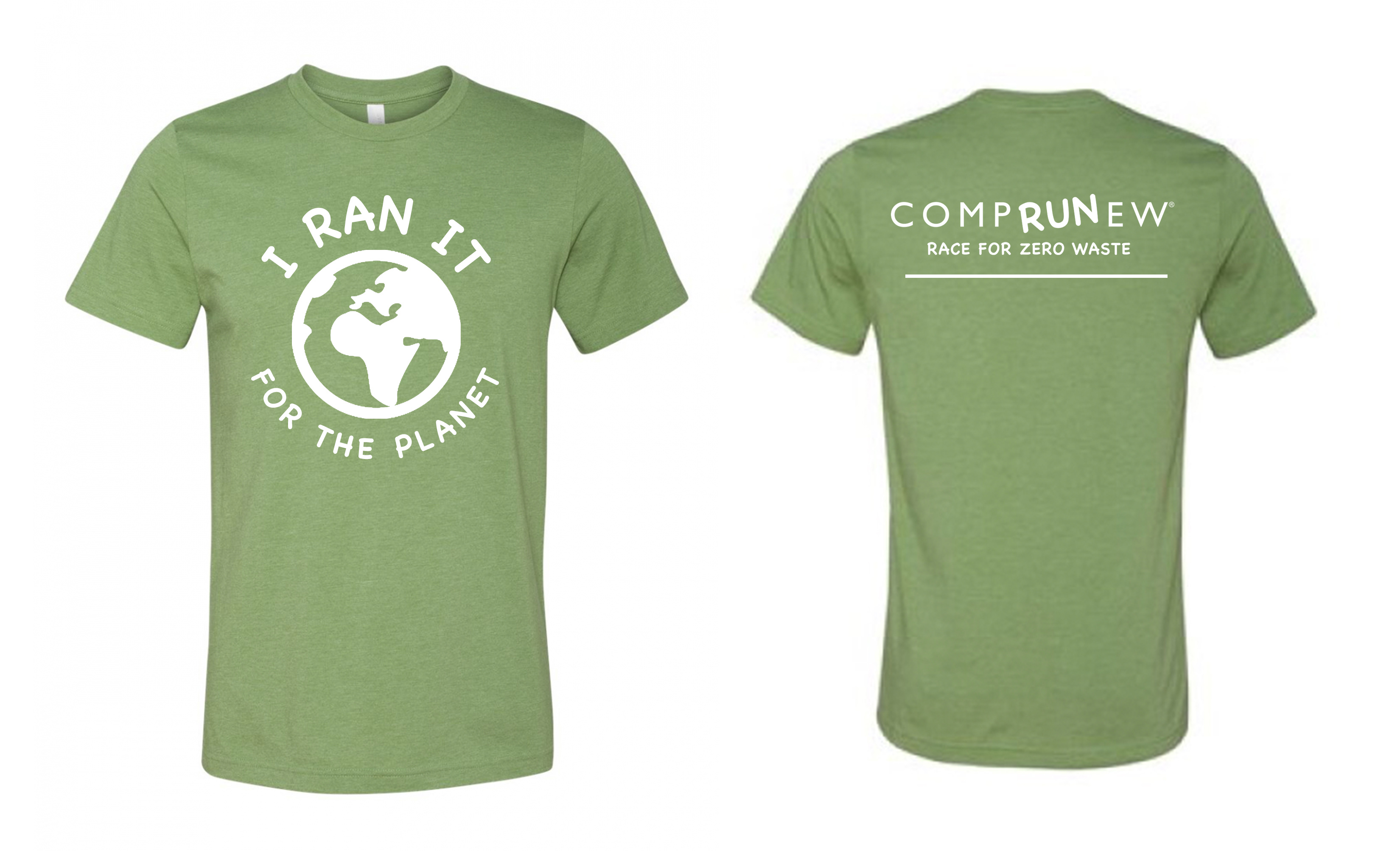 I Ran It for the Planet T-Shirt