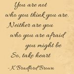 Quote - You are not who you think you are