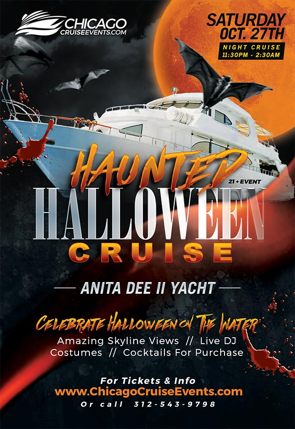 Haunted Halloween Night Cocktail Cruise