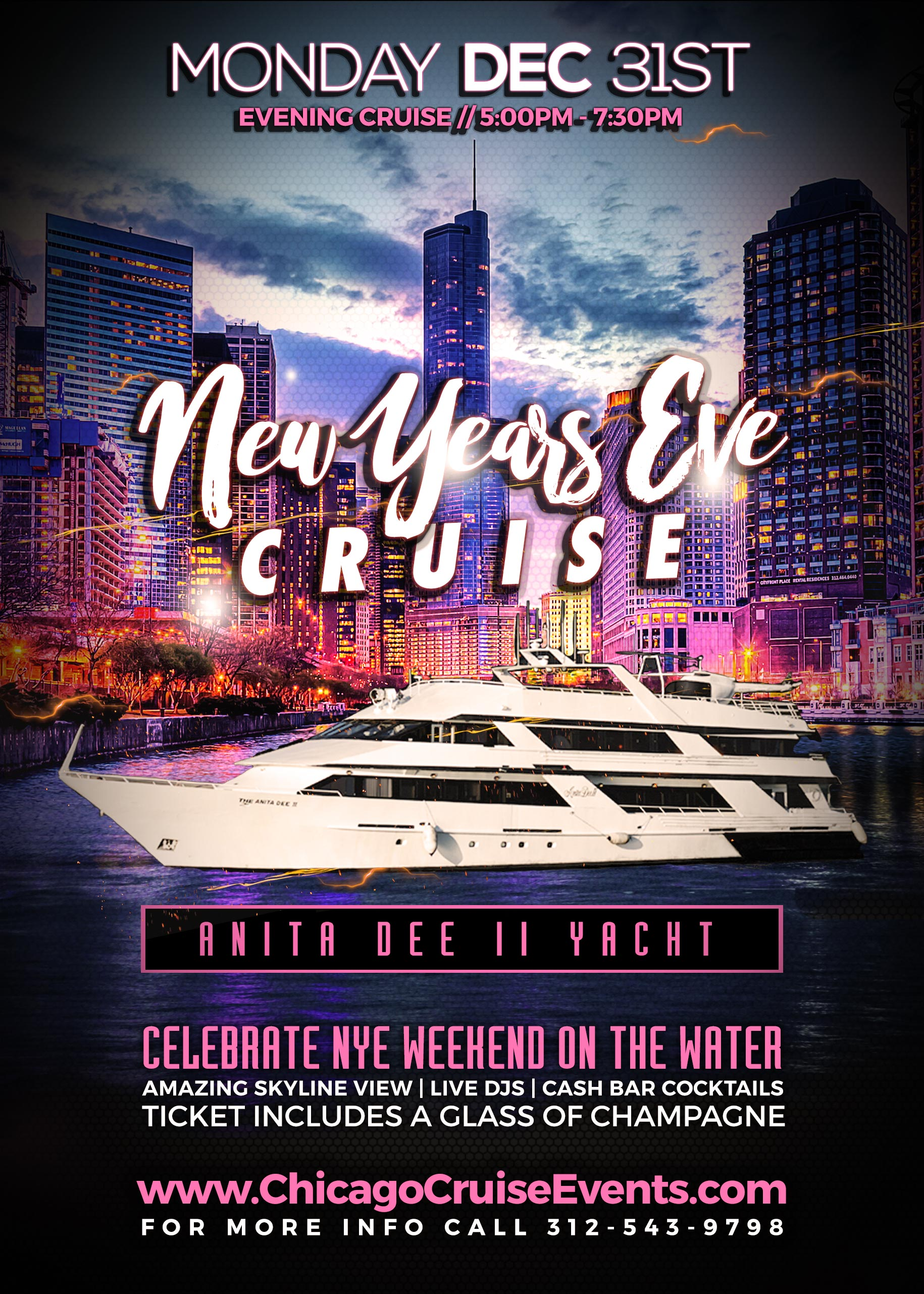 New Years Eve Cocktail Cruise