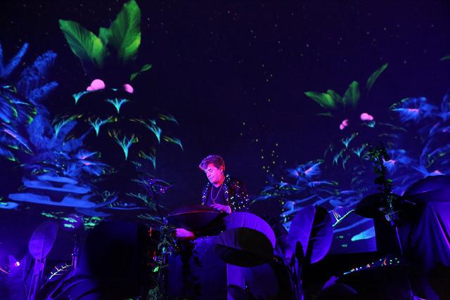 James Hood performing live