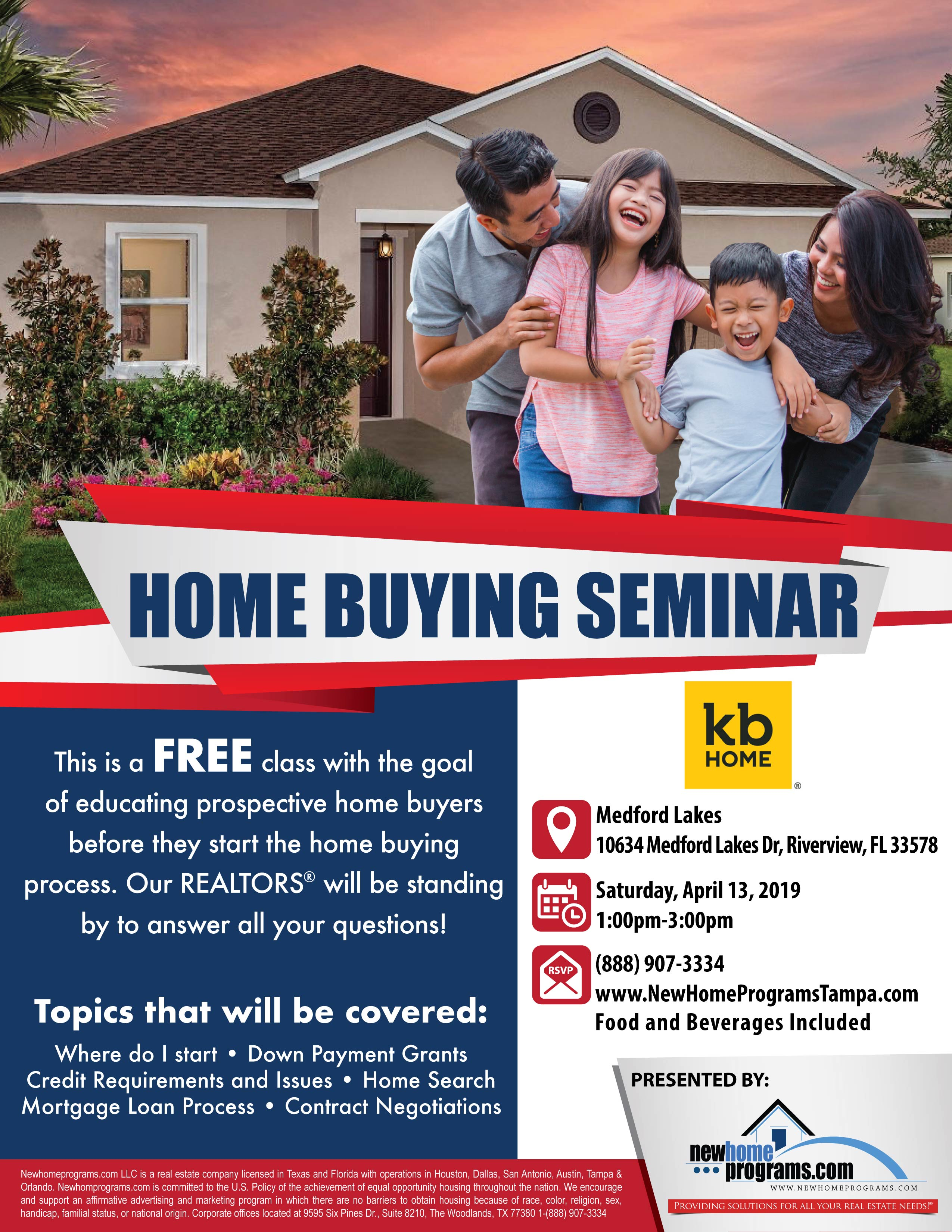 Free Home Buying Seminar Riverview Fl Tickets Sat Apr 13 2019
