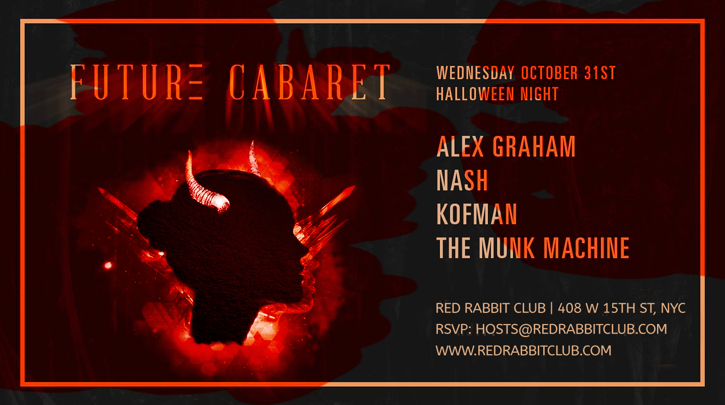 Red Rabbit Club - Halloween Night - Oct 31 - Future Cabaret