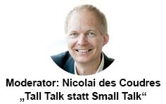 Moderator Nicolai des Coudres