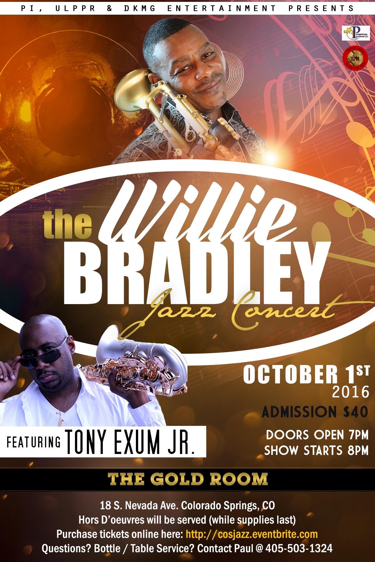 Willie Bradley Jazz Concert