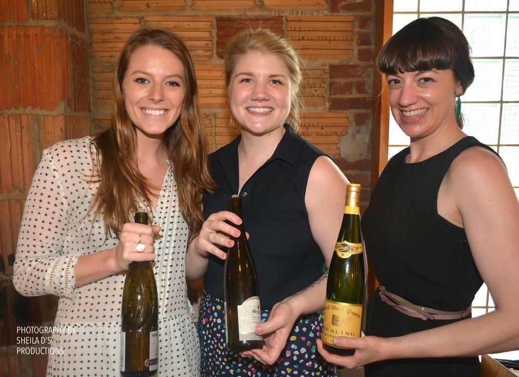 Reisling Wine tasting