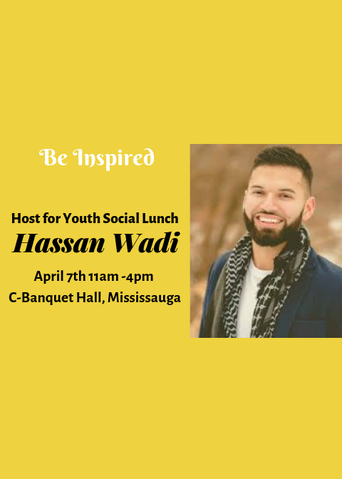 Be Inspired – Youth Social Lunch with Shaykh Musle…