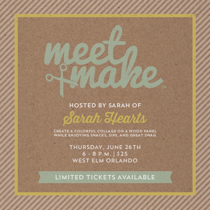Meet + Make Early Bird Pricing