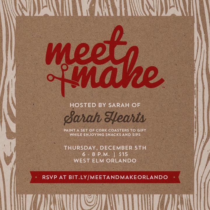 Meet and Make West Elm Orlando