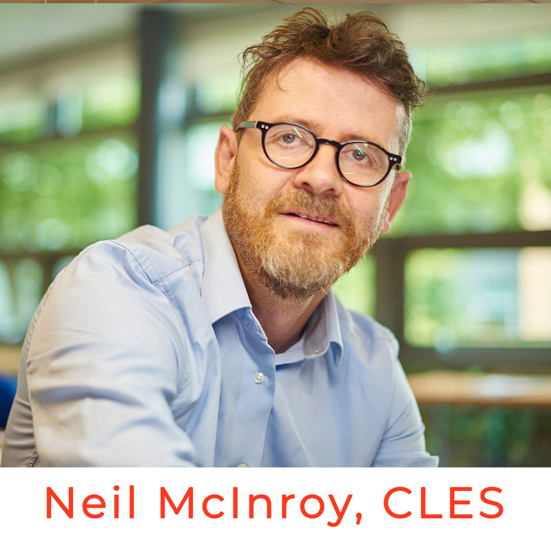 Neil McInroy CLES