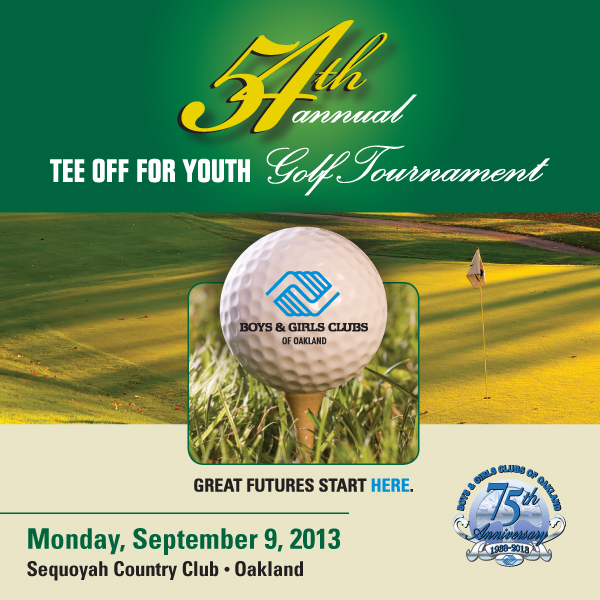Boys & Girls Clubs of Oakland - Golf Tournament - 2013