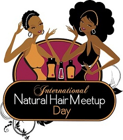 International Natural Hair Meet-up Day Logo
