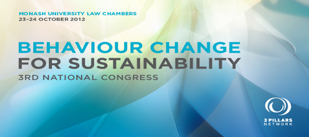 Behaviour Change for Sustainability: 3rd National Congress...