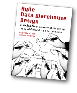 Agile Data Warehouse Design Book Cover