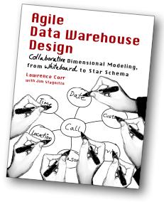 Agile Data Warehouse Design Book Cover