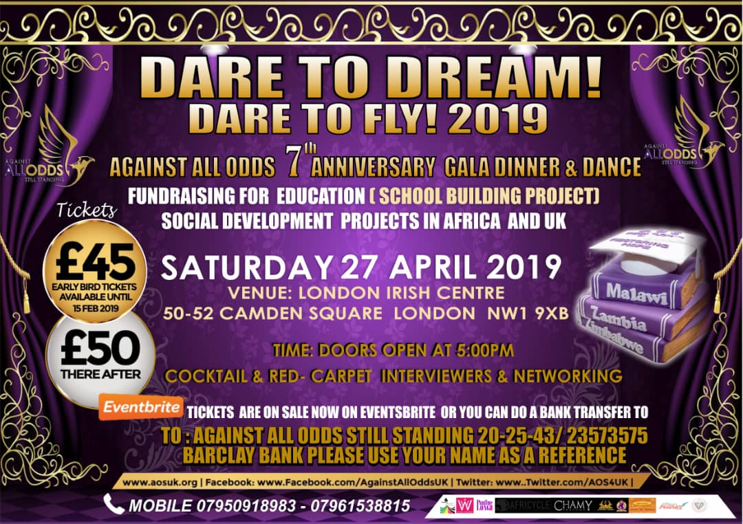Dare to Dream! Flyer