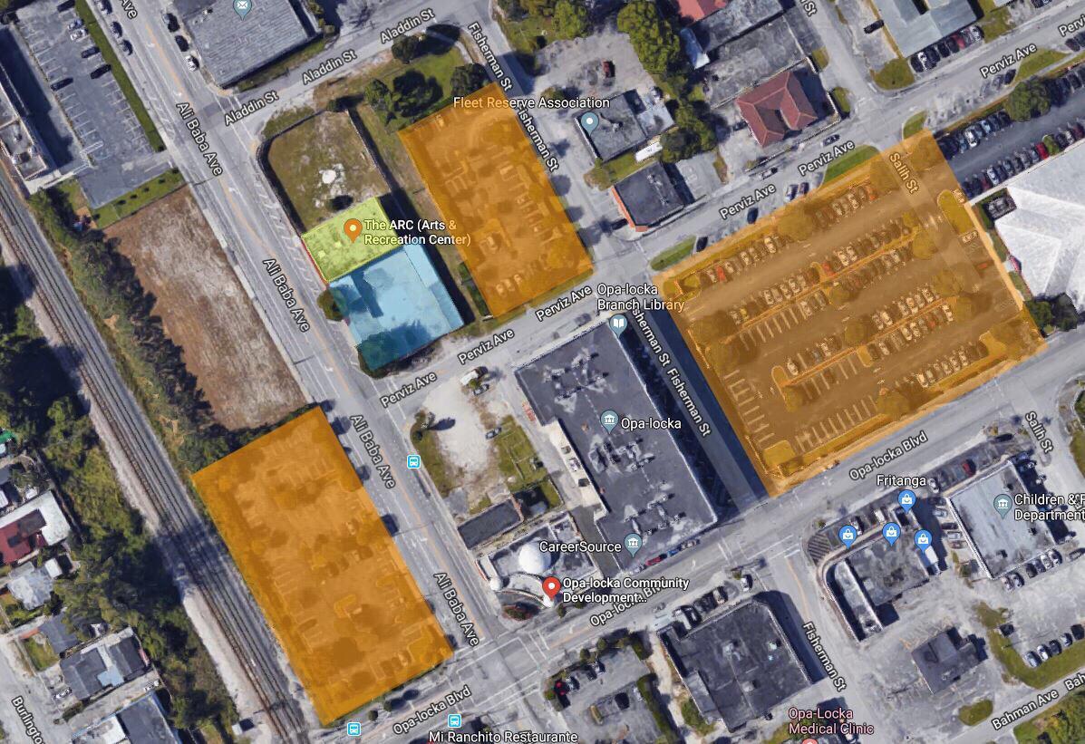 Orange Zone - Public Parking Areas