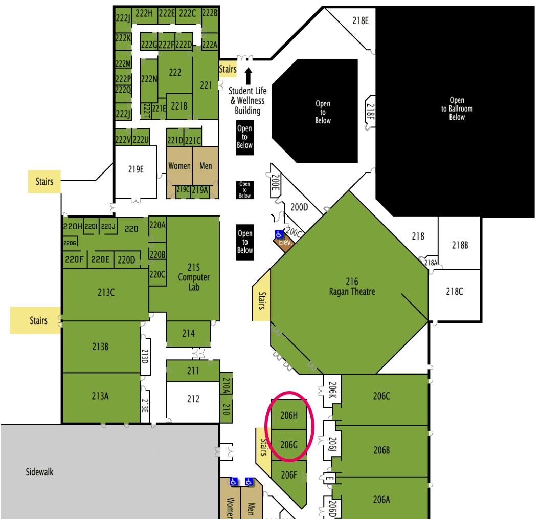 UVU SC206 GH Map