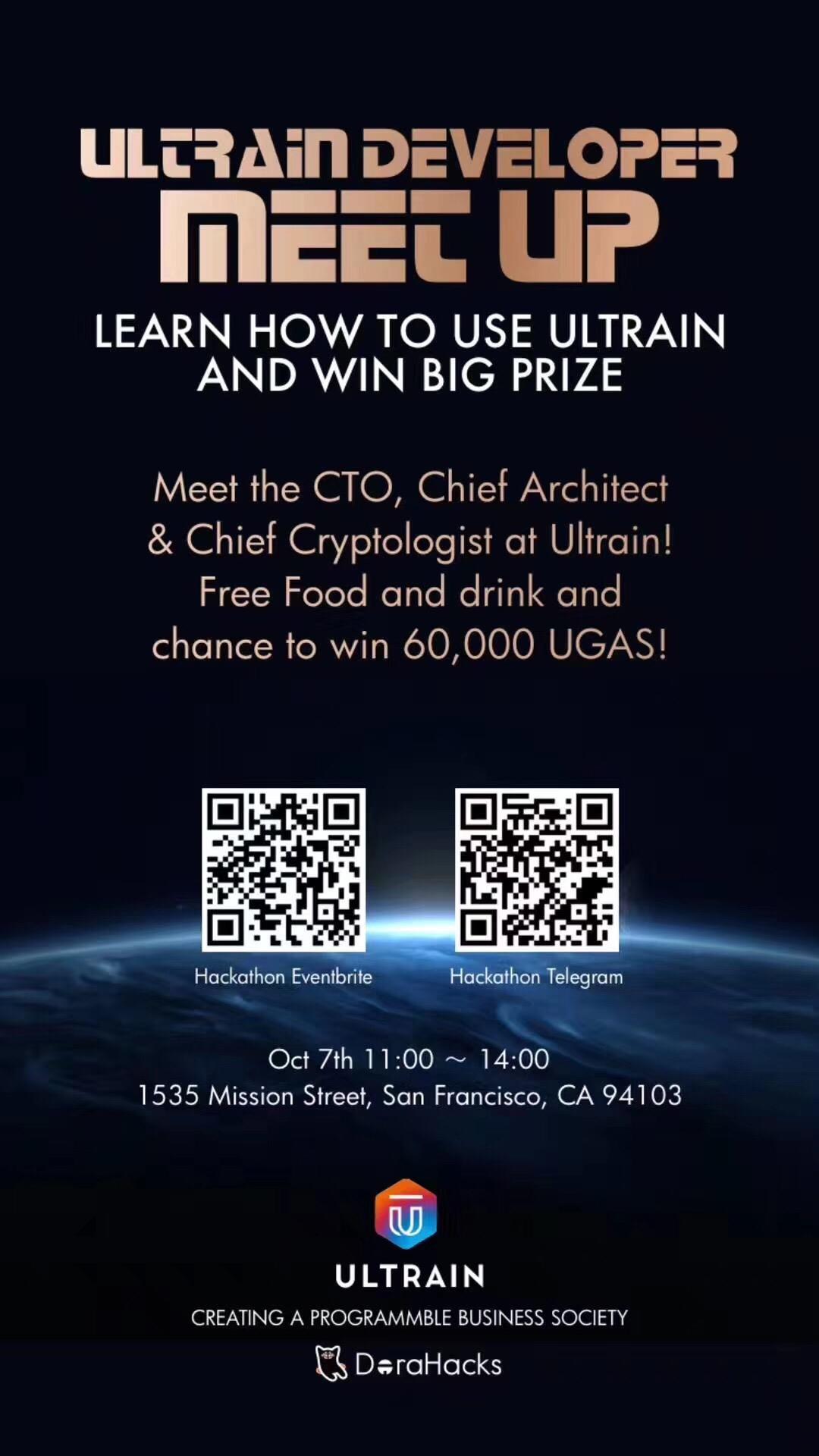 ULTRAIN Developer Meetup