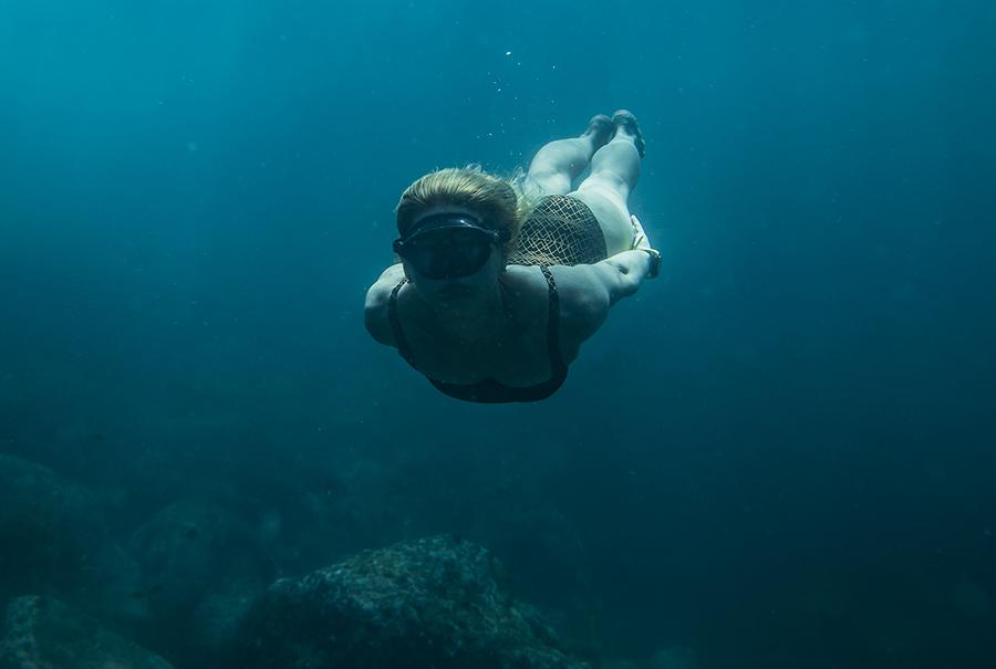 Michaela-underwater