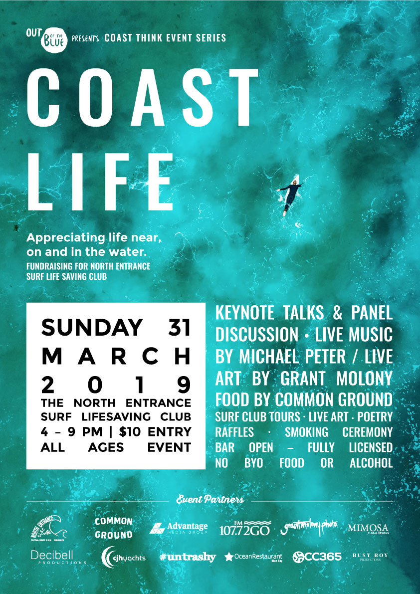 Coast Life Event Poster March 2019