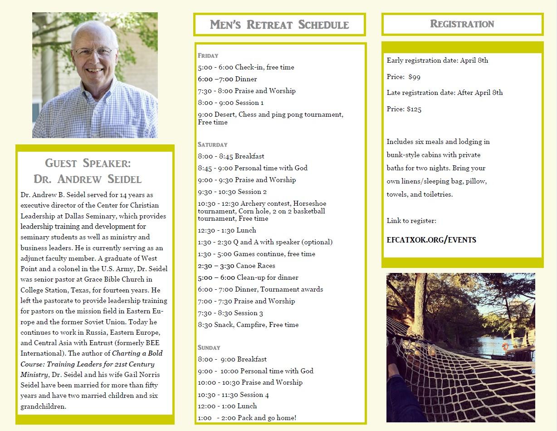 Retreat Brochure 2