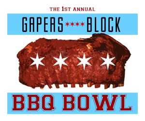 Gapers Block BBQ Bowl logo