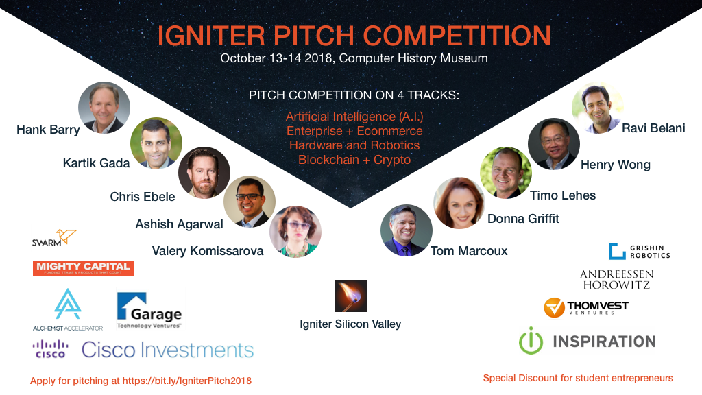 Igniter Pitch Competition