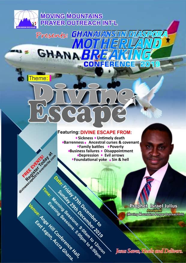 Ghanaians-in-Diaspora Motherland Breaking Conference 2019