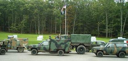 Camp Grayling 100th Historic Military Vehicle Display
