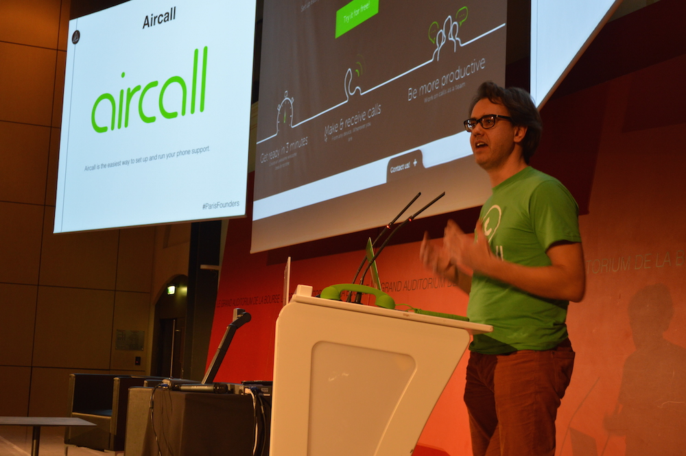 Aircall Demo January Paris Founders Event