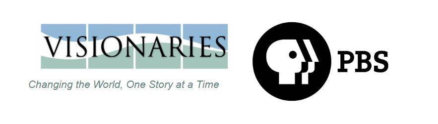 PBS and Visionaries logos