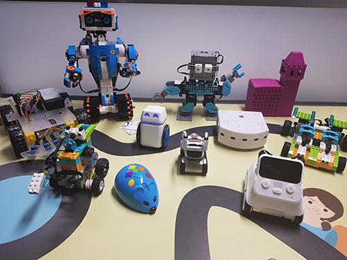 atelier robotique EuraTechnologies Lille