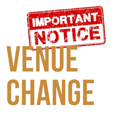 Venuue Change Important Notice