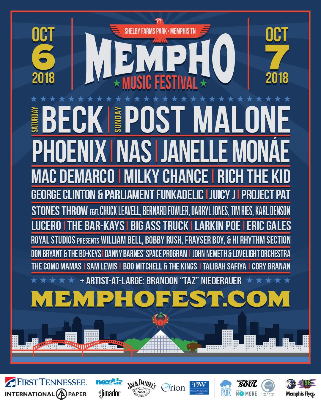 2018 lineup