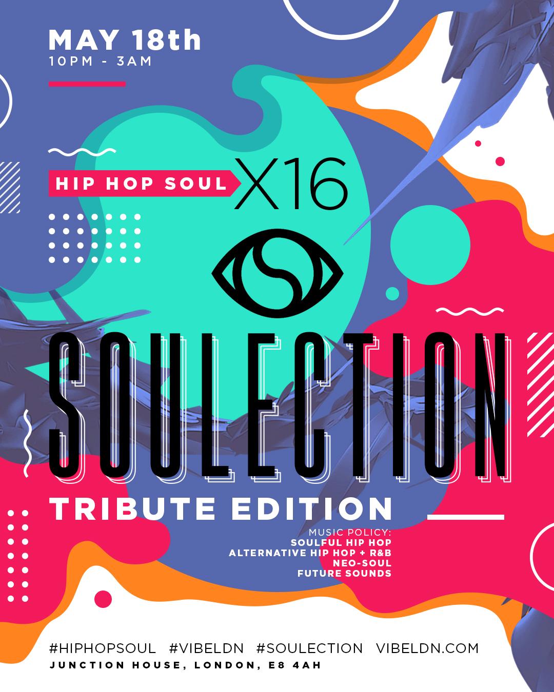 soulection X HIP HOP SOUL FLYER