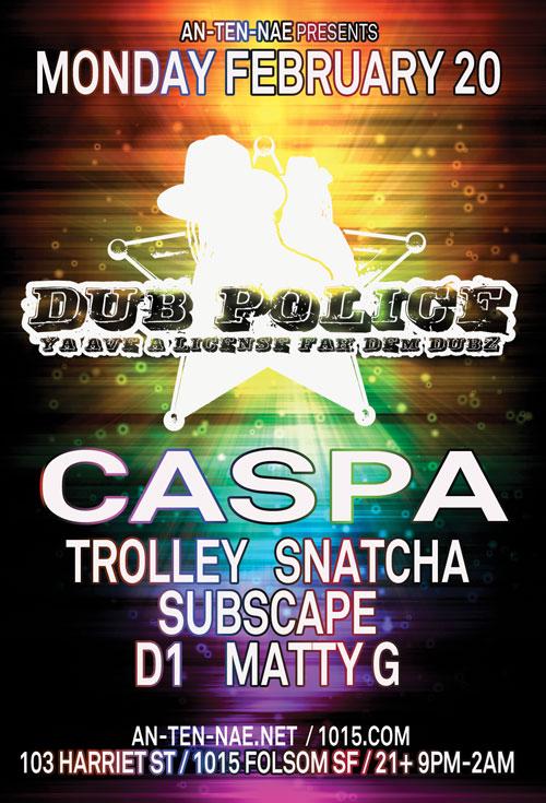 Dub Police Tour