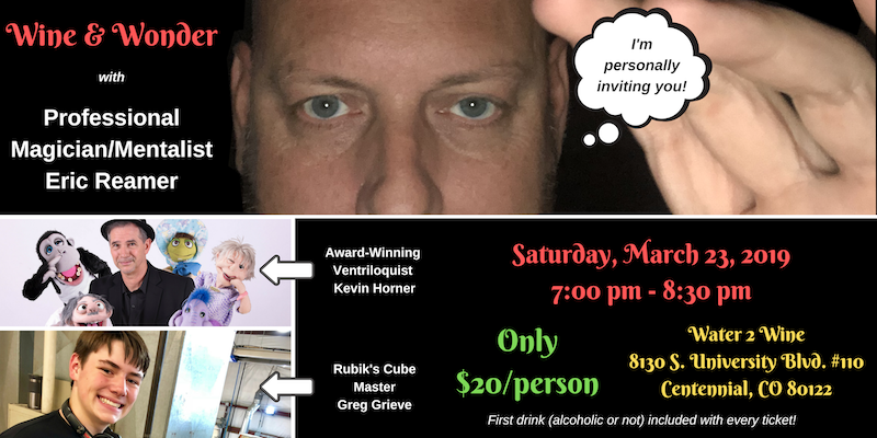 Wine and Wonder with Eric Reamer