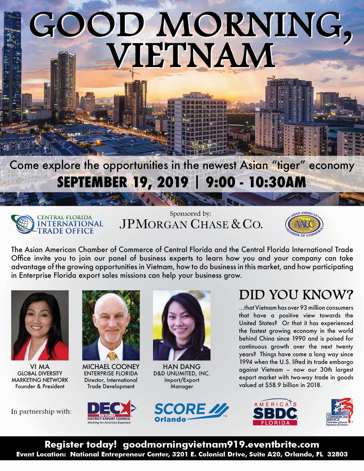 Good Morning Vietnam Flyer