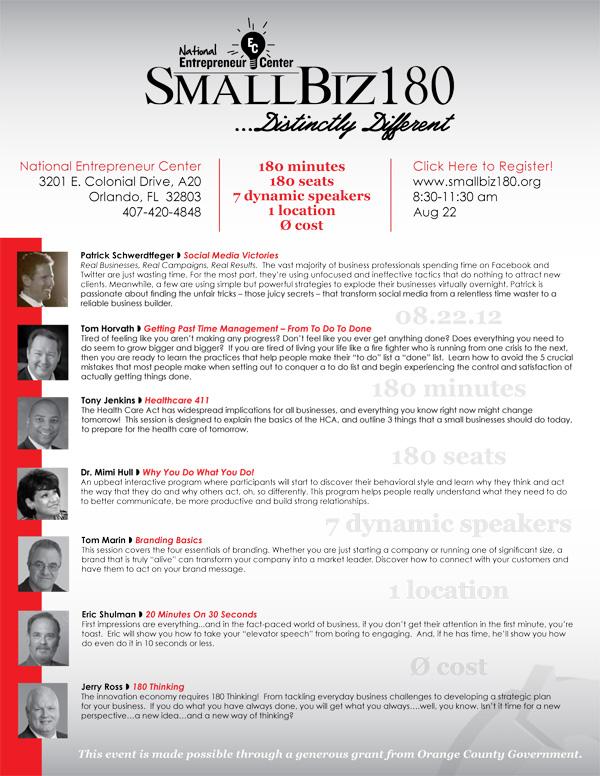 smallbiz180 topics