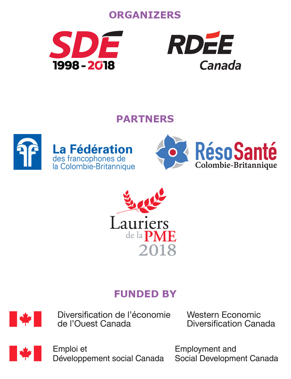 Organizers/partners/funded by