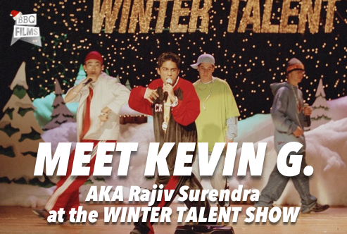Meet Kevin G. at the Winter Talent Show