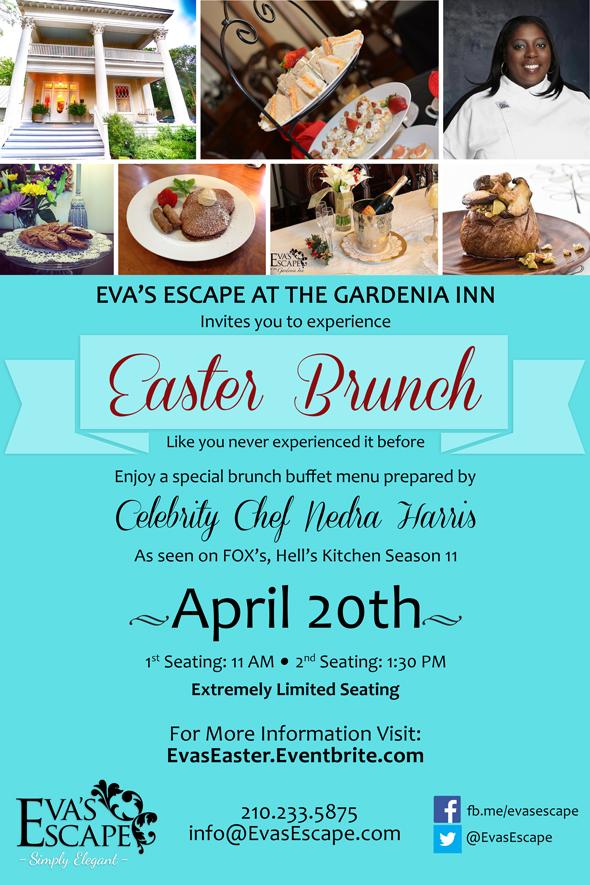 Easter Sunday Brunch Flyer 2014