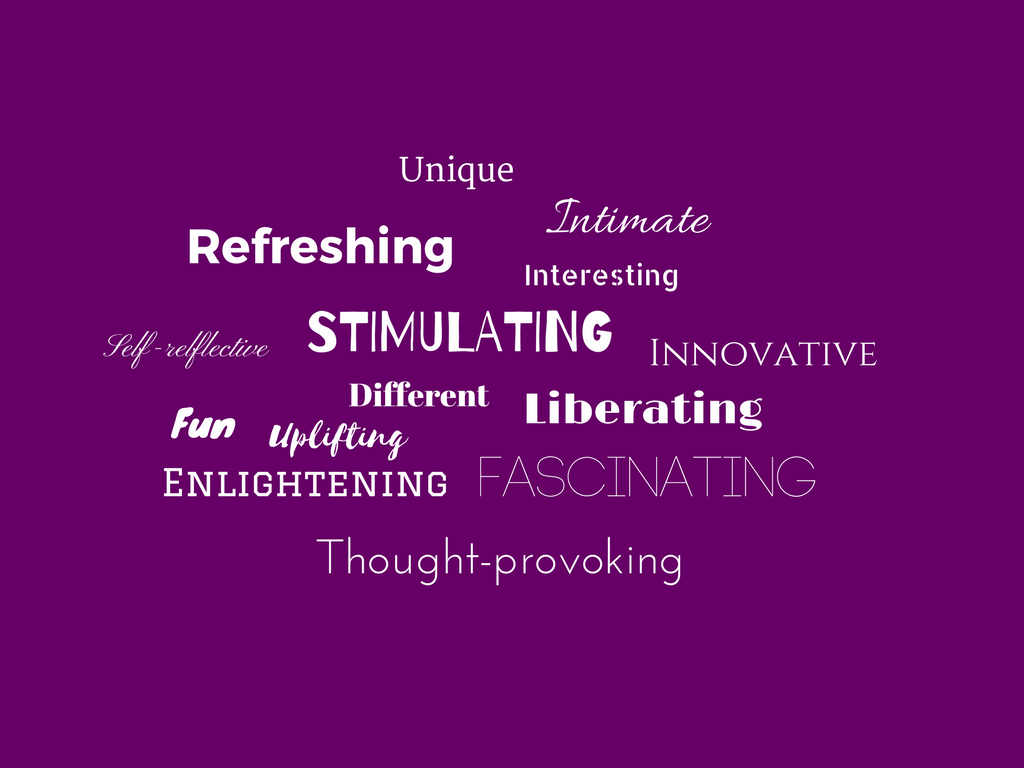 Words to describe Trigger from our previous attendees